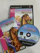 Barbie Adventures Wild Horse Rescue Playstation 2 Ps2 Complete Case | Manual