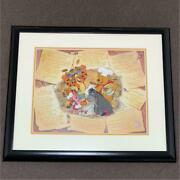 Limited Edition Painting Cel Anime Disney Winnie The Pooh Recipe For Fun