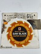 Vintage New Old Stock Black And Decker Circular Saw Blade