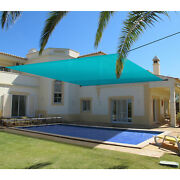 Outdoor Universal Pergola Canopy Cover Waterproof-turquoise 9'-13' W/grommets