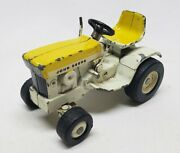 Vintage John Deere 140 Lawn And Garden Tractor Patio Yellow 1/16 Scale By Ertl