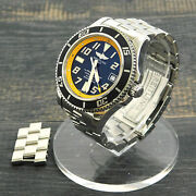 Breitling Super Ocean S. Steel A17364 Automatic Menand039s Wrist Watch 4 Rise-on