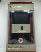 Covertec Luxury Flip Leather Case Fits Hp Ipaq 200 210 211 212 214 Series New