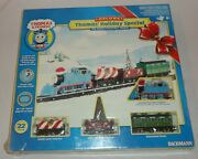 Thomas And Friends Deluxe Holiday Special Bachmann Ho Electric Train Set Christmas