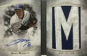 Limited To 1/1 Piece Kenta Maeda Direct Written Sign Letter Patch 2017 Topps