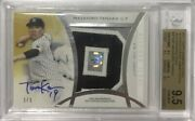 Limited To 1/1 Piece Appraised Masahiro Tanaka Direct Sign Oversized Patch 2017