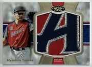 Limited To 1/1 Piece Masahiro Tanaka's All-star Patch 2020 Topps Tire One