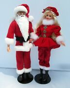Mr. And Mrs. Santa Claus Barbie Doll Harry Potter Dumbledore Ooak Holiday Gift Set