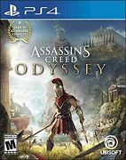 Assassins Creed Odyssey North America - Ps4 Free Ship W/tracking New Japan