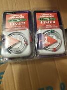 Intermatic Lamp And Appliance Timer Model Tn111c Plug In . Qty 2