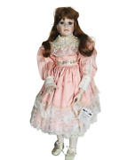 Thelma Resch Porcelain Doll Katrina 1993 28in Designers Guild Le 257 Of 2000