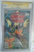 Saga Of The Swamp Thing 20 Cgc 9.6 Signature Series Signed By Bernie Wrightson