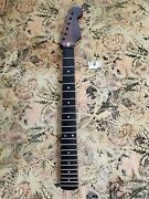 Stratocaster Strat All Rosewood Neck Replacement Modern C 22 Fretsread Specs