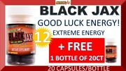 13 Black Jax By Stacker Two Good Luck Extreme Energy 20 Capsules 12 +1 Bottles