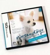 Nintendo Ds Software Nintendogs Dogs Chihuahua Friends Communication Function