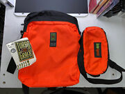 Nec Turbografx-16 System Keeper Bag W/ Turbo Express Fanny Pack New Old Stock