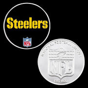 Steelers Silver Coin Nfl Challenge Metal Coin Creative Souvenir Coin Ornaments