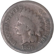 1876 Indian Head Cent Good Penny Gd See Pics G872