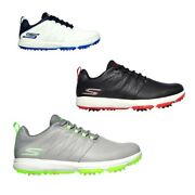 New 2021 Skechers Mens Pro 4 Legacy Golf Shoes - Various Sizes And Colours