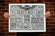 Founder's Brewery Hand Made Limited Ed Letterpress Print Poster Cbs Kbs Stout