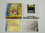 Pokemon Pinball Nintendo Game Boy Color 1999 Box And Booklet Excellent