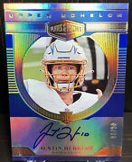 Justin Herbert Rc Auto 2020 Plates And Patches Upper Echelon 08/20