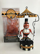 Dept 56 Glitterville Halloween Ornament The Big Top Ring Master Circus Retired