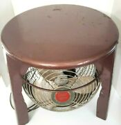 Superlectric Stool Fan Rare Hassock Vornado Style Model No 1400 Superior Elect