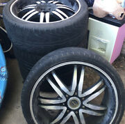 Wheels And Tires Used To Be On A Infiniti G35