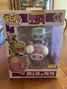 Funko Pop Rides Invader Zim And Gir On The Pig Nickelodeon Hot Topic Exclusive 41