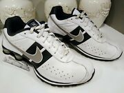 Nike Shox Men's Authentic Athletic Shoes Size 15 Breathable Upper Leather Clean