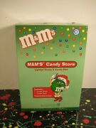 Candy Store Christmas House And Dish Mandmand039s Mandms Dept. 56 Mars Inc 2004 No Candy