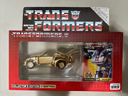 Takara E-hobby Exclusive Transformers 06 Gold Jazz Mib-double Taped
