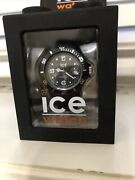Ice Watch Silicone Black Unisex New Battery