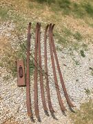 1950 Chevy Tin Woody Station Wagon Roof Interior Bows Headliner Support Interio