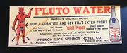"""French Lick Springs Hotel Pluto Water Devil - Indiana Advertising 5"""" X 16"""""""