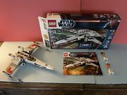 Lego 9493 - Star Wars - X Wing Starfighter Complete Minifigures Box Manual