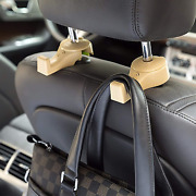 4 Pcs Car Hooks For Purse Car Headrest Hook Seat Hook For Grocery New