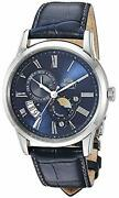 Orient Menand039s Sun And Moon Version 3 Stainless Steel Japaneseautomatic Watch Wit