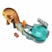 Disney Pixar Cars Mini Racers Radiator Springs Spin Out Playset With Pitty An...
