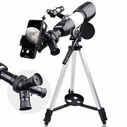 Telescopes For Adults Astronomy Beginners Telescope For Kids 8-12 Portable Trave