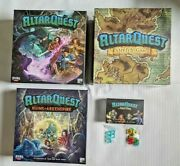 Kickstarter Altar Quest All-in Pledge Plus Kse Stretch Goals And Many Add-ons