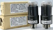 1mp Ecc35 6sl7gt Vt-229 5691 Tungsol Black Coated Amplitrex Tested2704026and28
