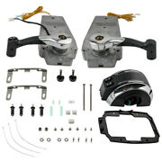 Outboard Remote Control Console Mount For Mercury 8m0075245 Dual Twin Engine