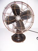 Vintage Emerson Electric 12 Oscillating Fan Type 79646aq Works