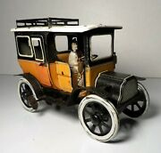 German Gandk Tin Litho Windup Taxi Automobile Greppert And Kelch Germany 1910 Bing