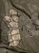 Acu Flc Vest Fighting Load Carrier, Us Army With Attachments