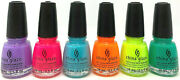 6 China Glaze Nail Lacquer Havana Nights Collection Spring 2021 Full Set