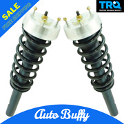 Trq Front Complete Loaded Strut Spring Assembly Kit Pair 2pc Fits Bmw X5 Suv New