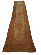 Malayer Camel-hair Runner Beige Red Medallion - 3and0397 X 16and03910
